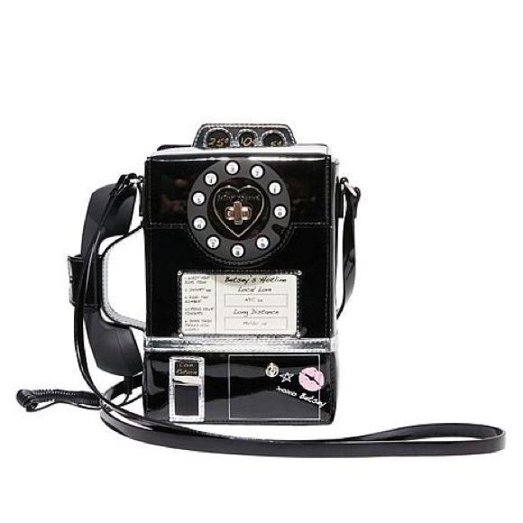 e84b510e0 Betsey Johnson Bags | Retro Payphone Call A Friend Purse | Poshmark